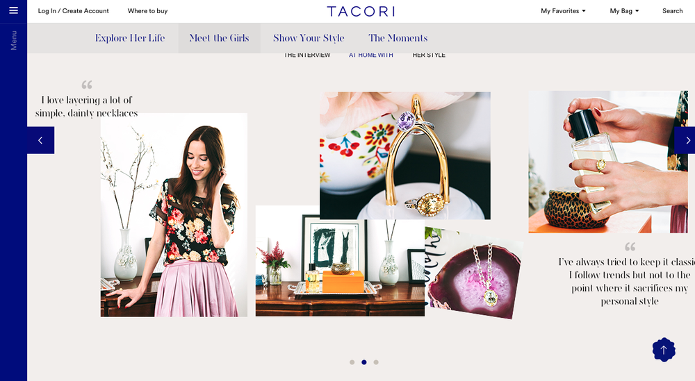 'Tacori girl' template layouts / flatboards
