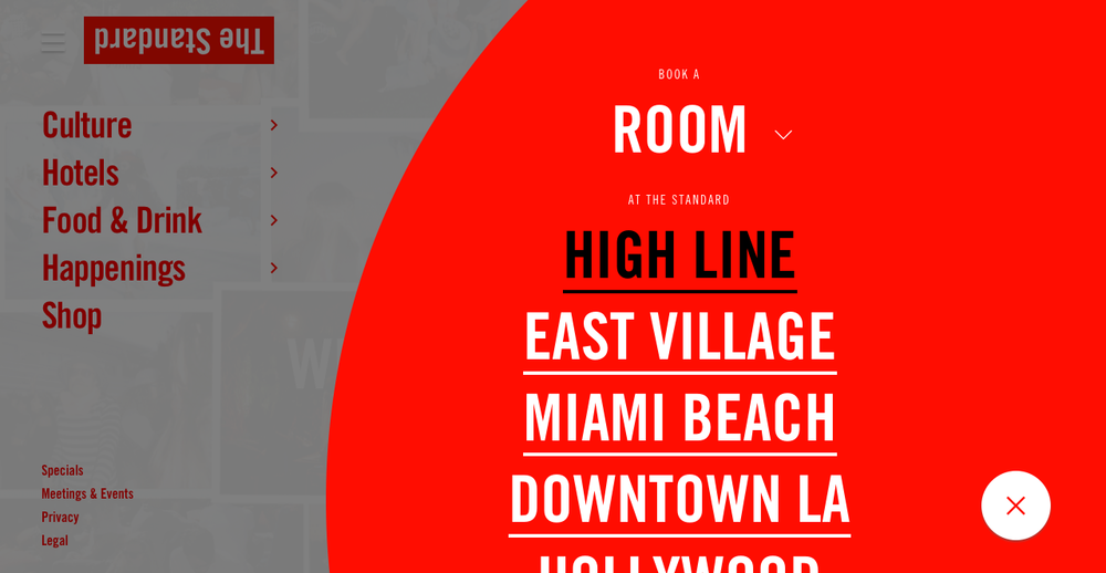 Category/destination page - Rooms / Hotel