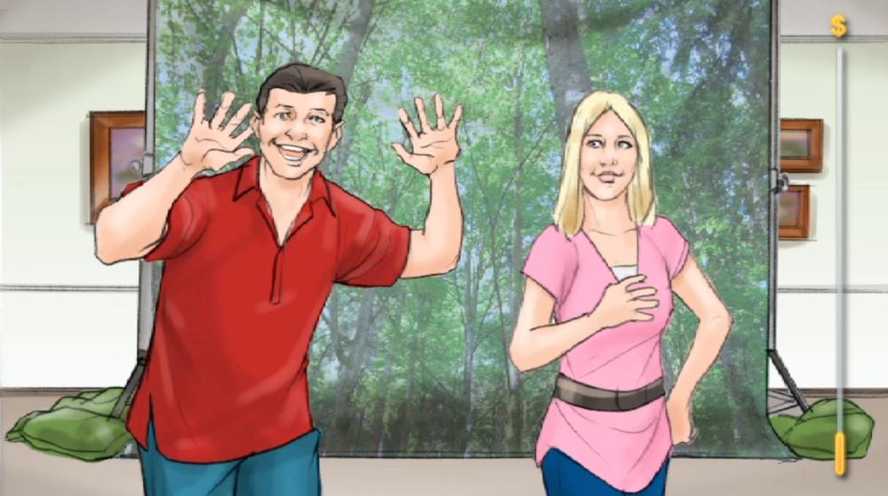 Animatic No. 2 - VISA Prepaid ' Go Nuts-ish'