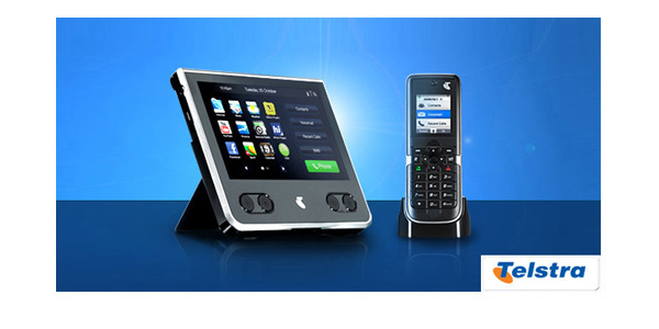 The Telstra 'T-Hub' tablet & handset