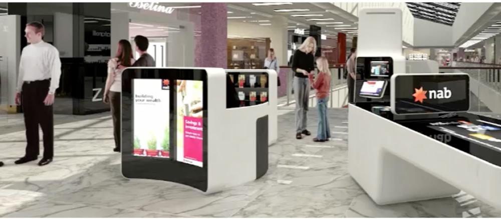 Kiosks 'in situ' -80 metro shopping centres.