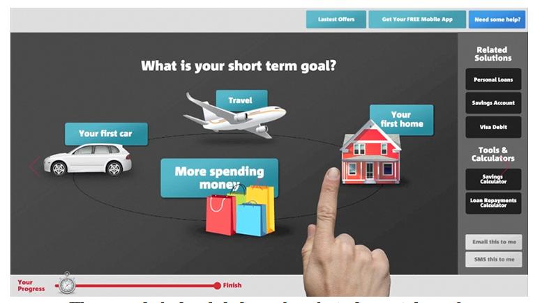 Digital Interface - 'Goal Setting' cont'