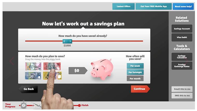 Digital Interface - 'Savings'
