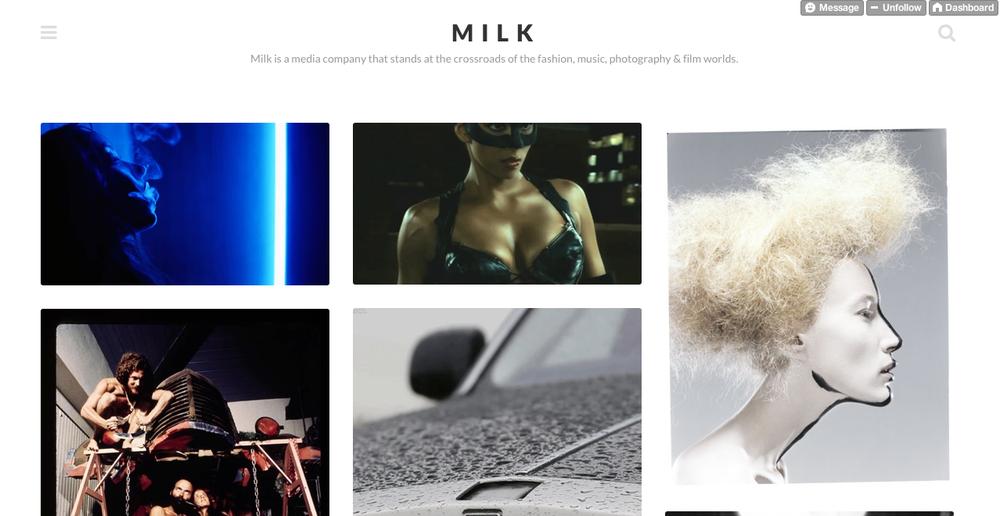 MILK Studios  MILK Made Tumblr