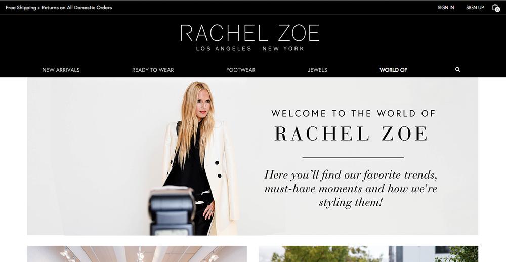 'World of' Rachel Zoe