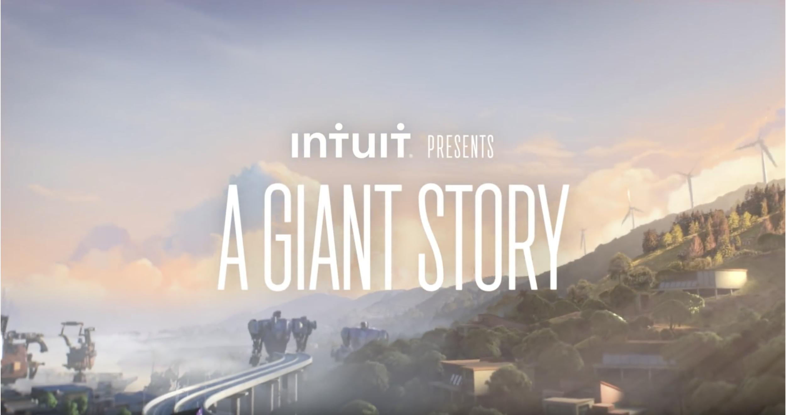 Kết quả hình ảnh cho intuit a giant story