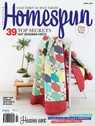Australian Homespun No. 143 - April 2015