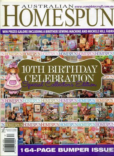 Australian Homespun No. 90 - December 2010