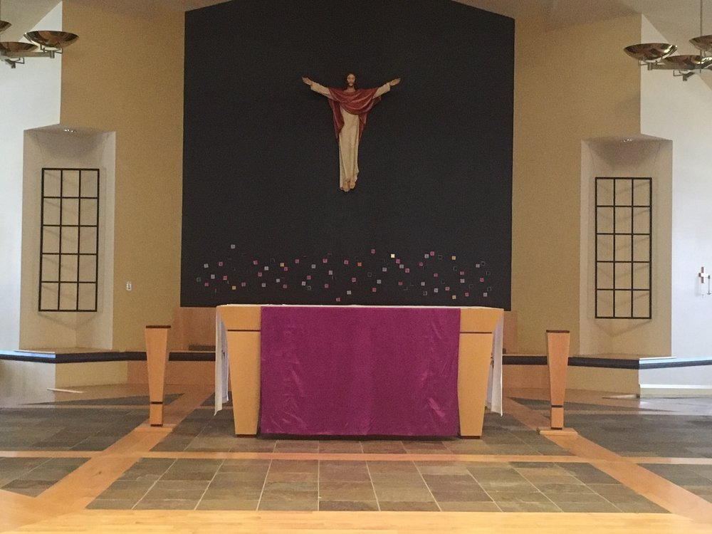 Learn more about our Lenten Environment ~ click  here