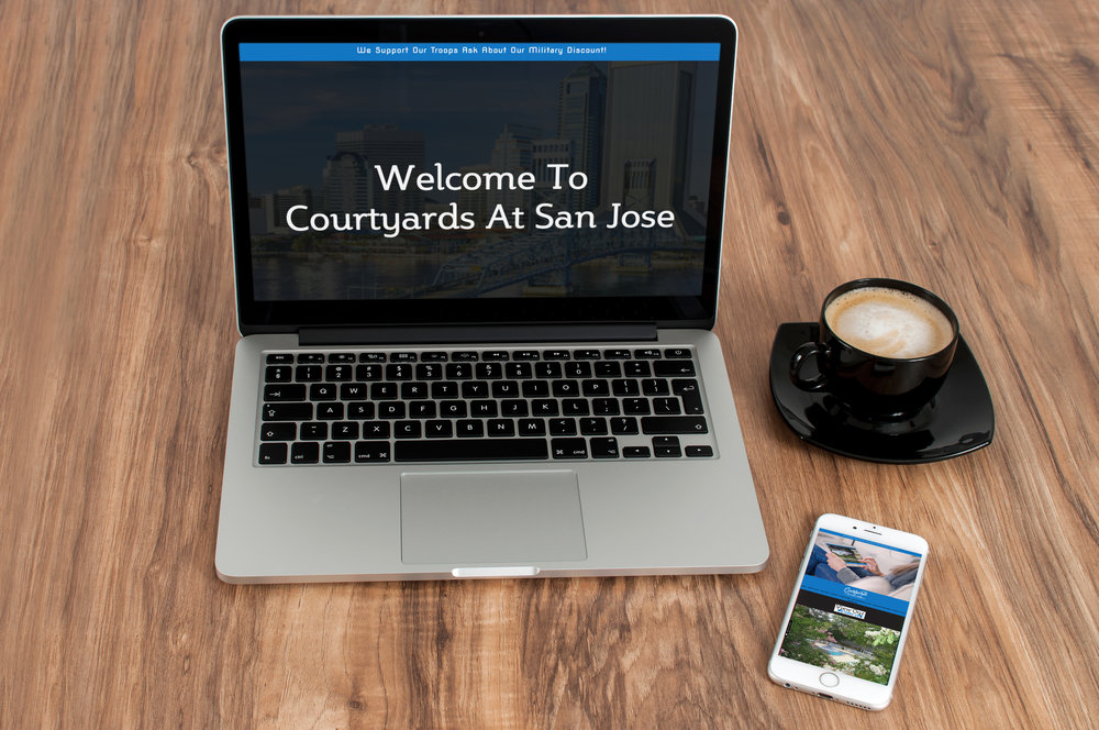 Courtyards at San Jose Website Development & Mobile Application Development