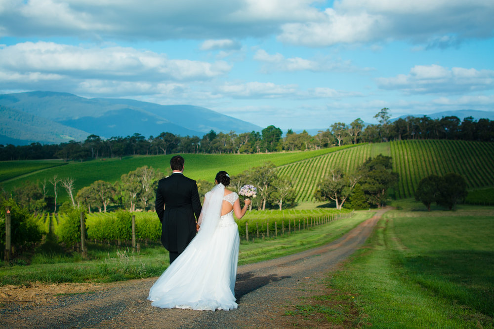 Naomi & Anthony - Killara Estate, Yarra Valley