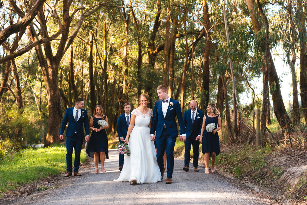 Simone & Josh - Yarra Ranges Estate, Monbulk