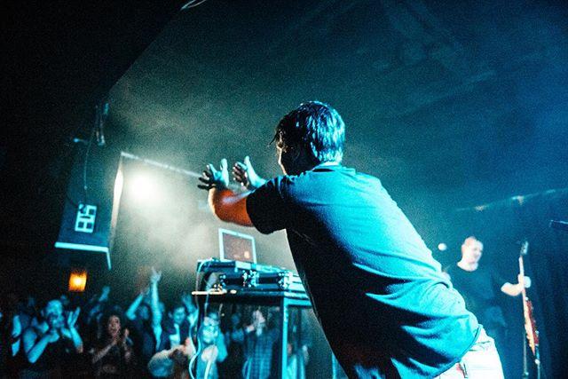 That post-gig high ✨ @hugobladel