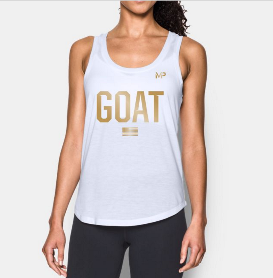 Michael Phelps G.O.A.T. Tank from Under Armour