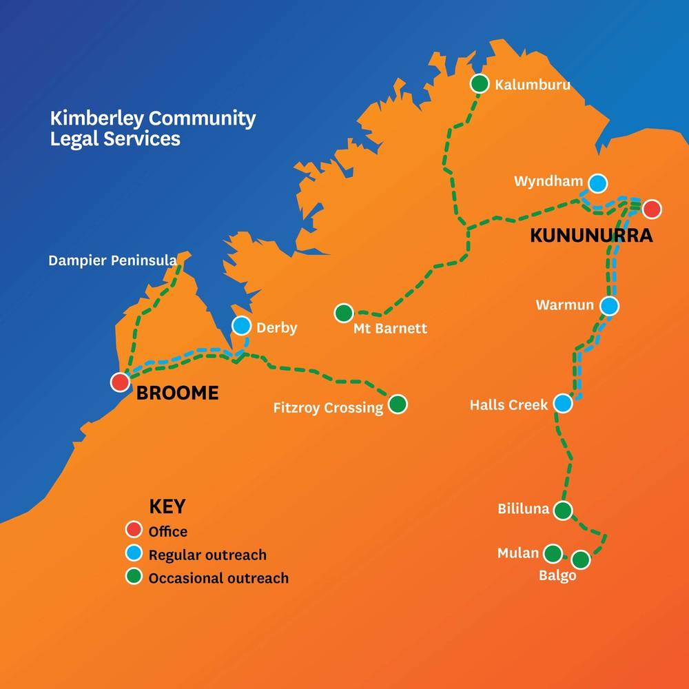 KCLS map