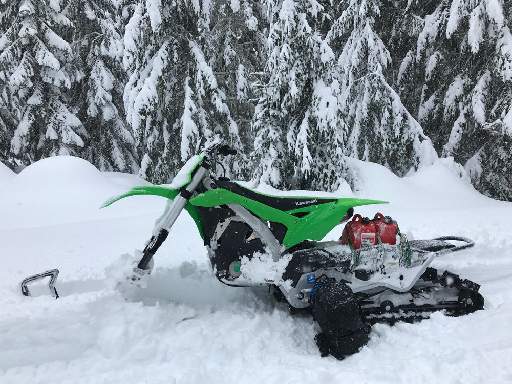 Snowbike motothenw