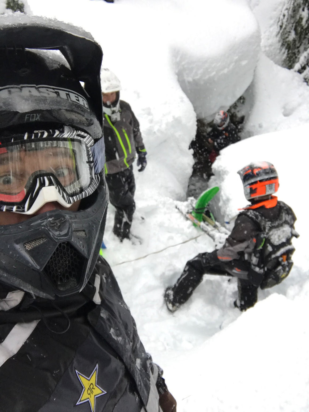 snow biking motothenw
