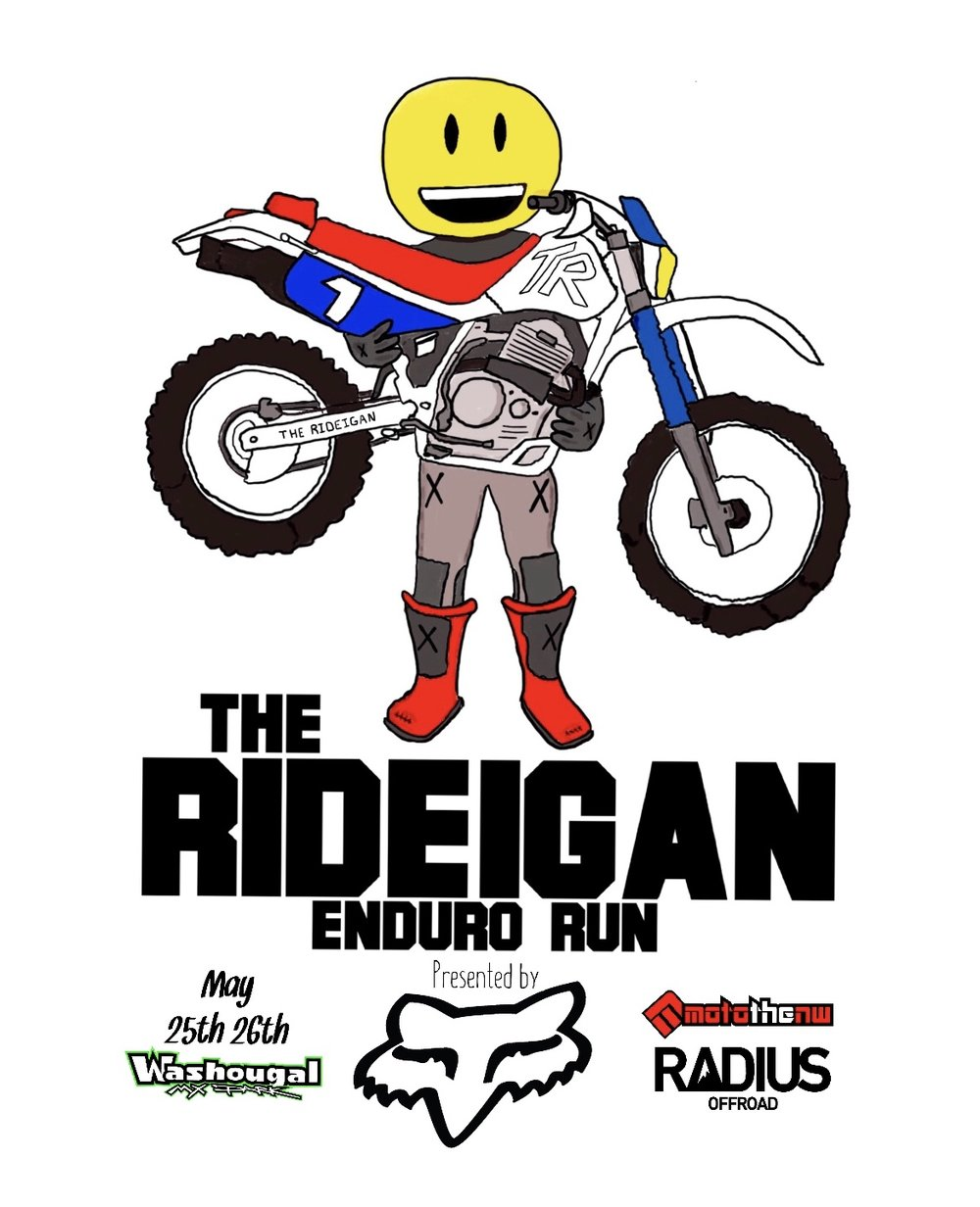 - Rory Sullivan and Joey Lancaster share all about The RIDEIGAIN - The newest and coolest off-road event coming up this Memorial Day weekend at Washougal MX Park. It's no stress, just fun and we can't wait to share all the details with you.