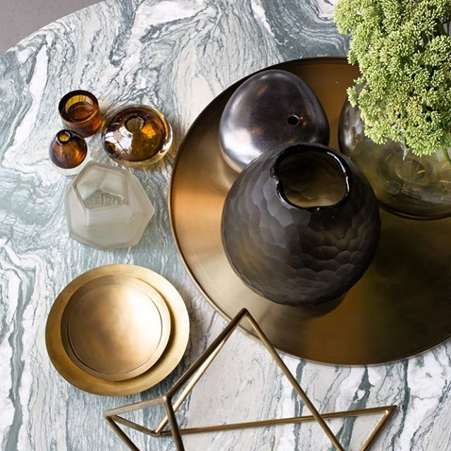 Our signature marble tops matched with stunning accessories brings a touch of luxury to every space.