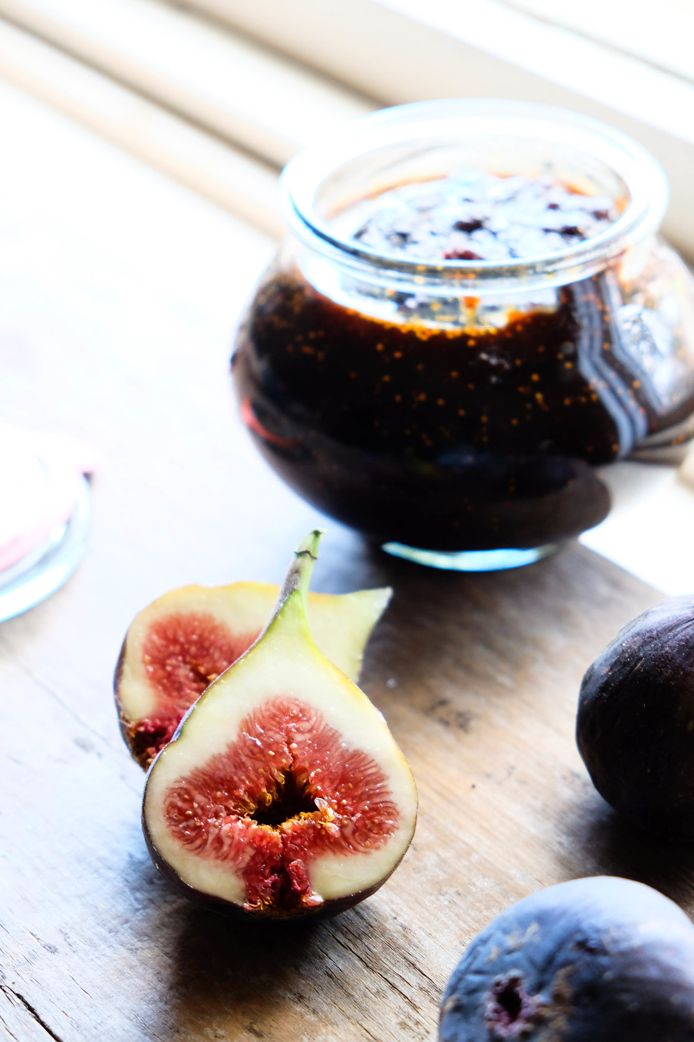 Fresh fig and vanilla bean jam