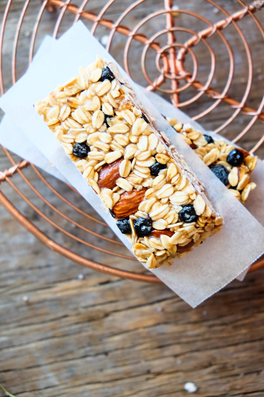 7-ingredient healthy muesli bars