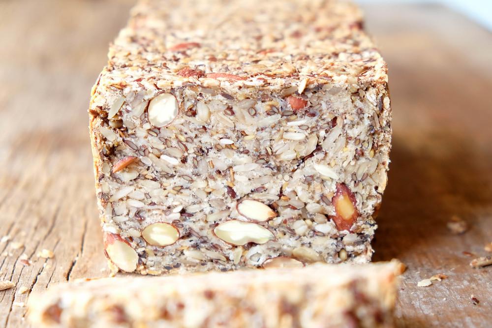 Delicious and healthy hi-fibre loaf!