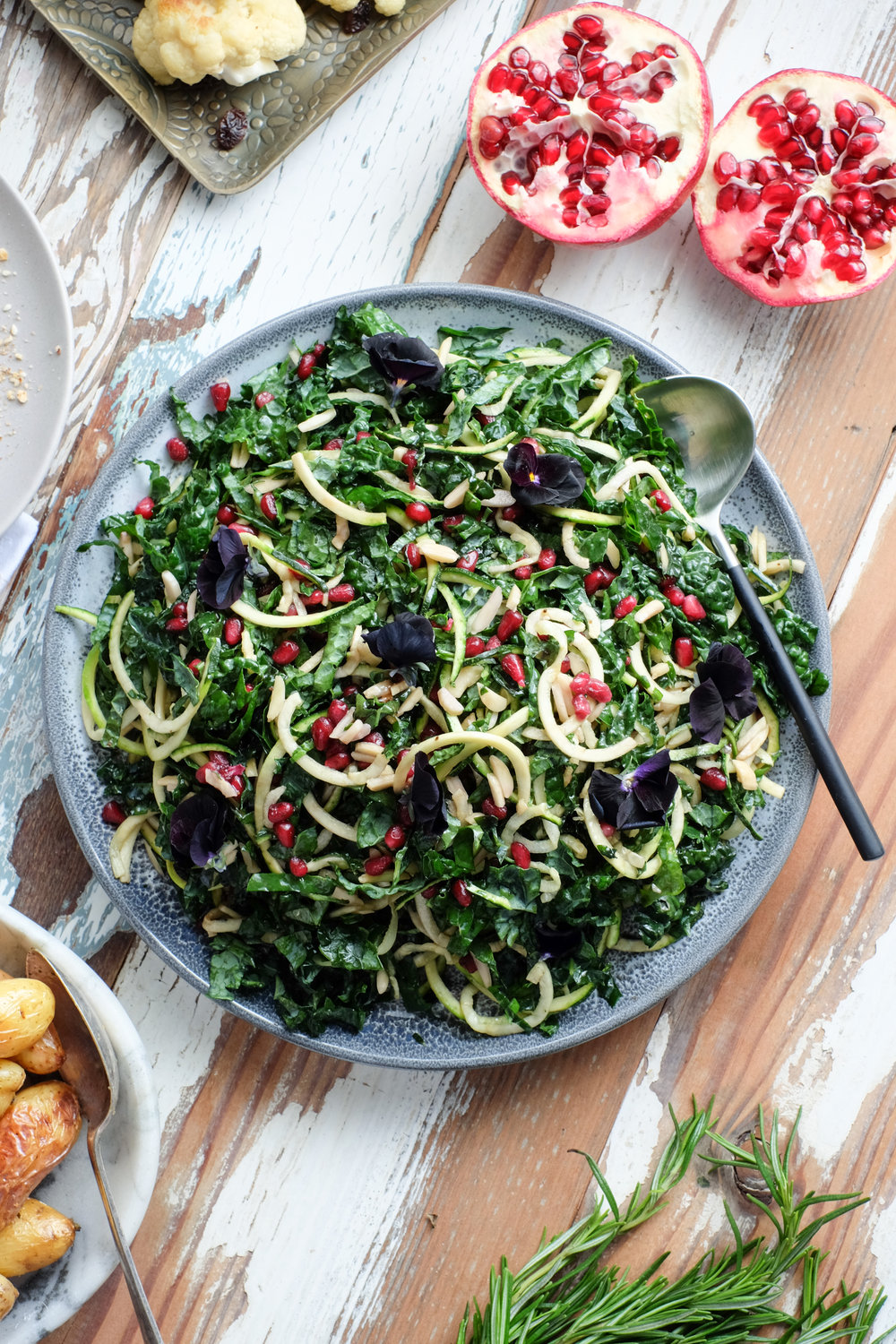 An easy festive salad with David Jones