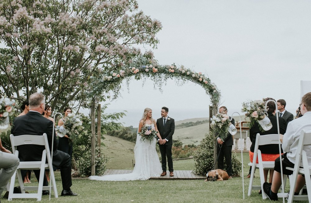 Bush Bank Wedding South Coast Jack Gilchrist Wedding Photography