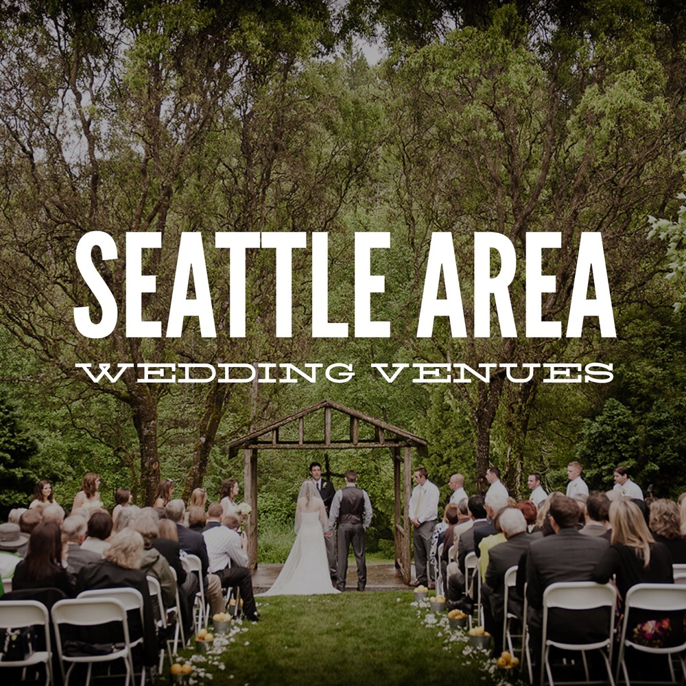 Seattle Wedding Venues | Find beautiful weddings at some of Seattle's top wedding venues. Perfect for wedding planning
