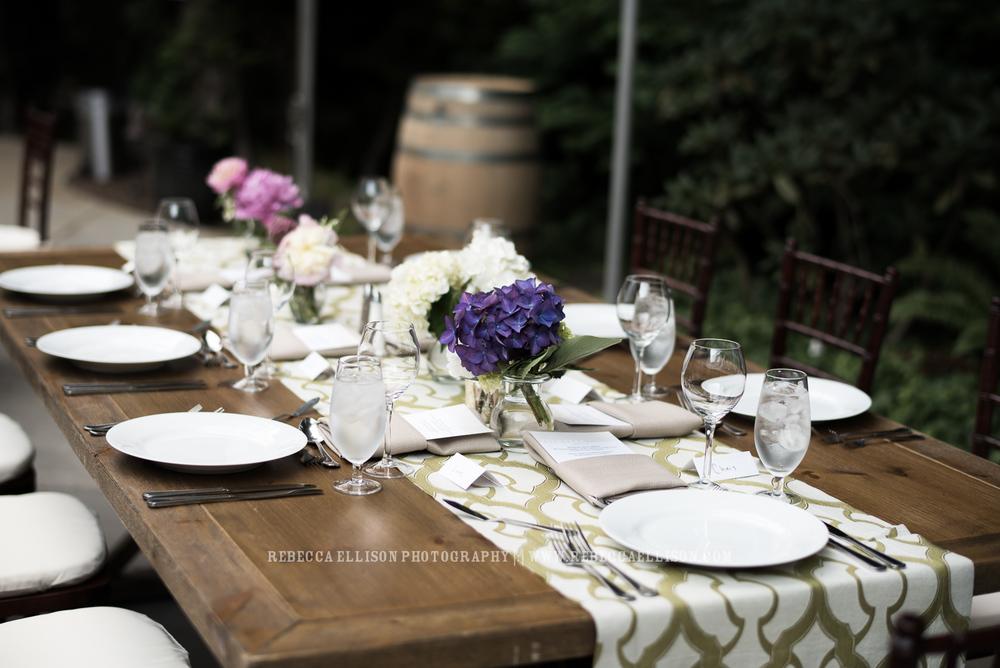 JM Cellars Wedding | Intimate Winery Wedding | Seattle Wedding Photographer | www.rebeccaellison.com