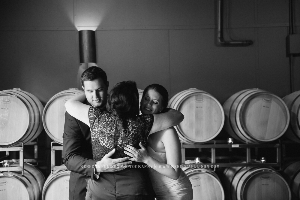 JM Cellars Wedding | Intimate Winery Wedding | Seattle Wedding Photographer | www.rebeccaellison.com