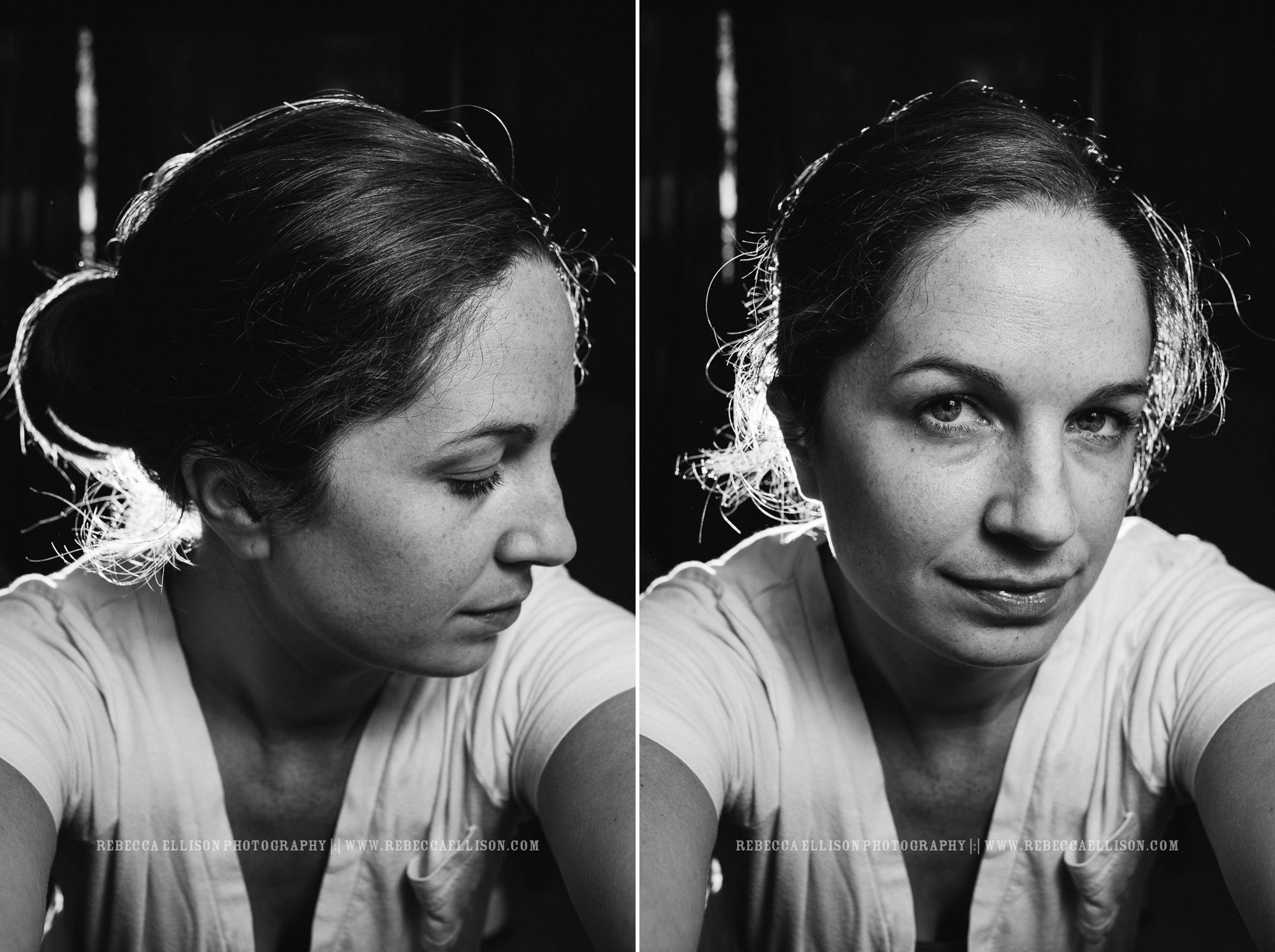 self portrait of Seattle wedding photographer Rebecca Ellison