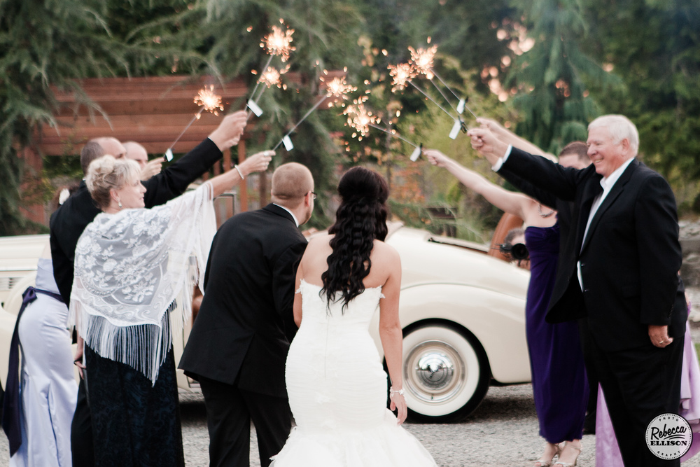 how to exit your wedding reception