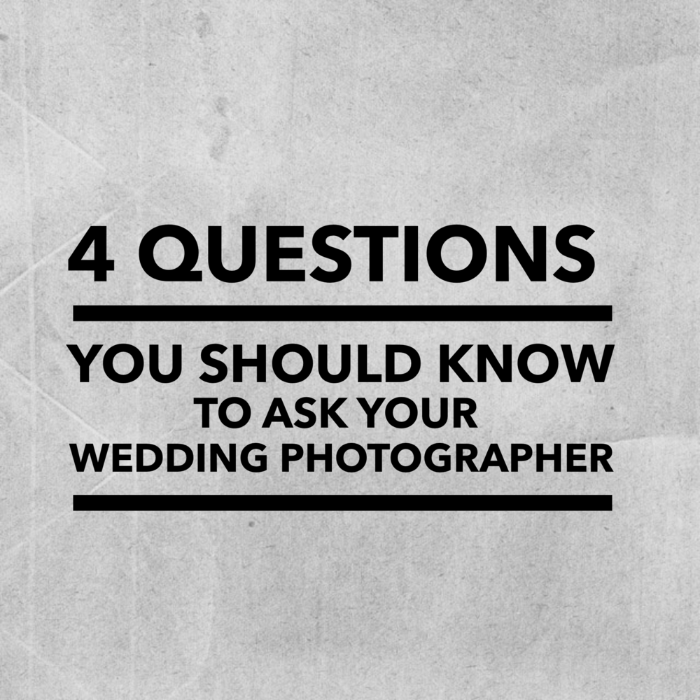 Questions to Ask your Wedding Photographer | Seattle Wedding Photography