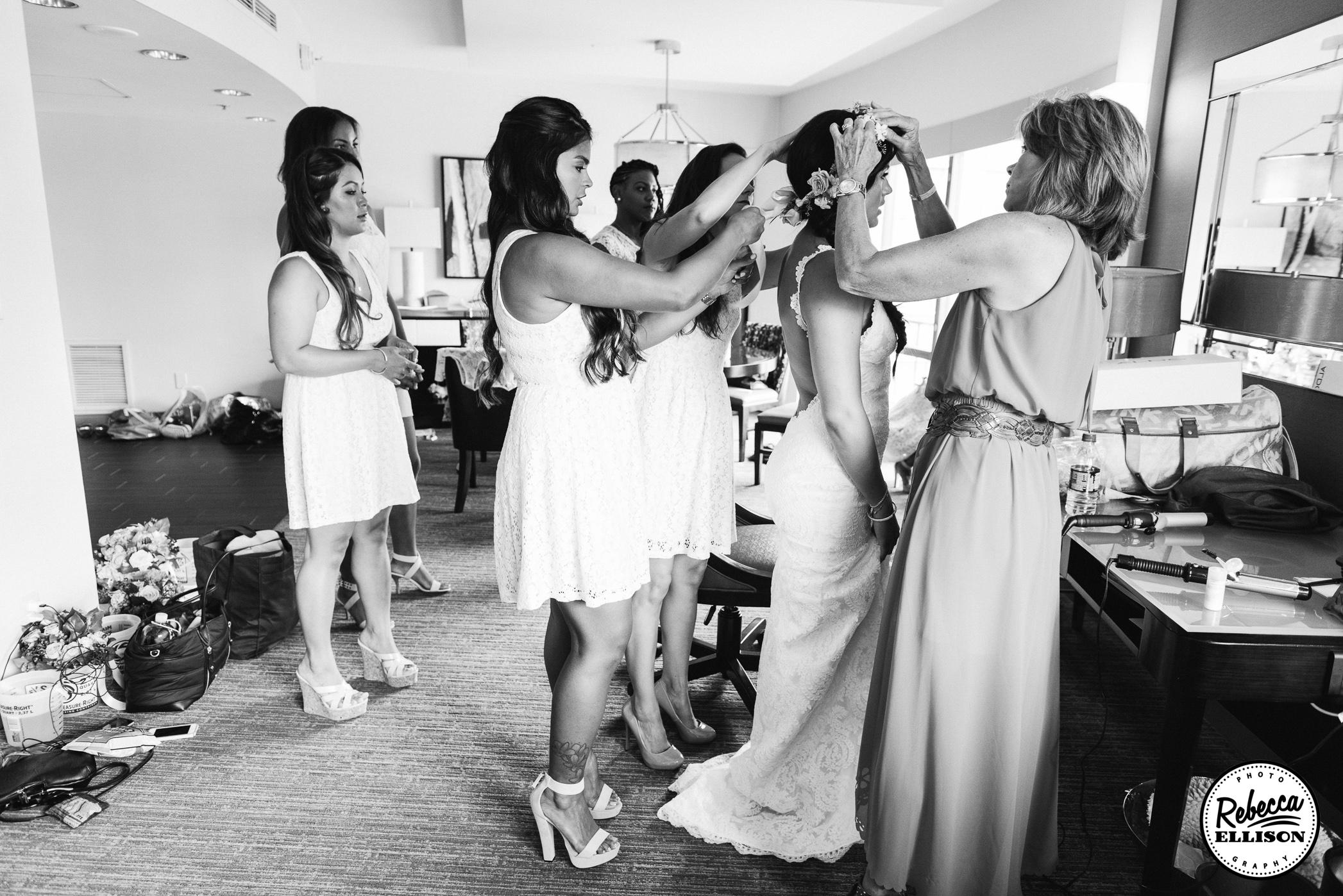 wedding day getting ready tips