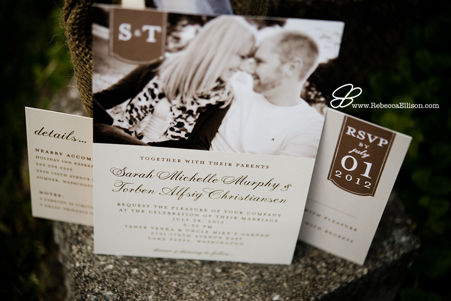 hot wedding trends for 2015 - engagement photos on save the date and invitations