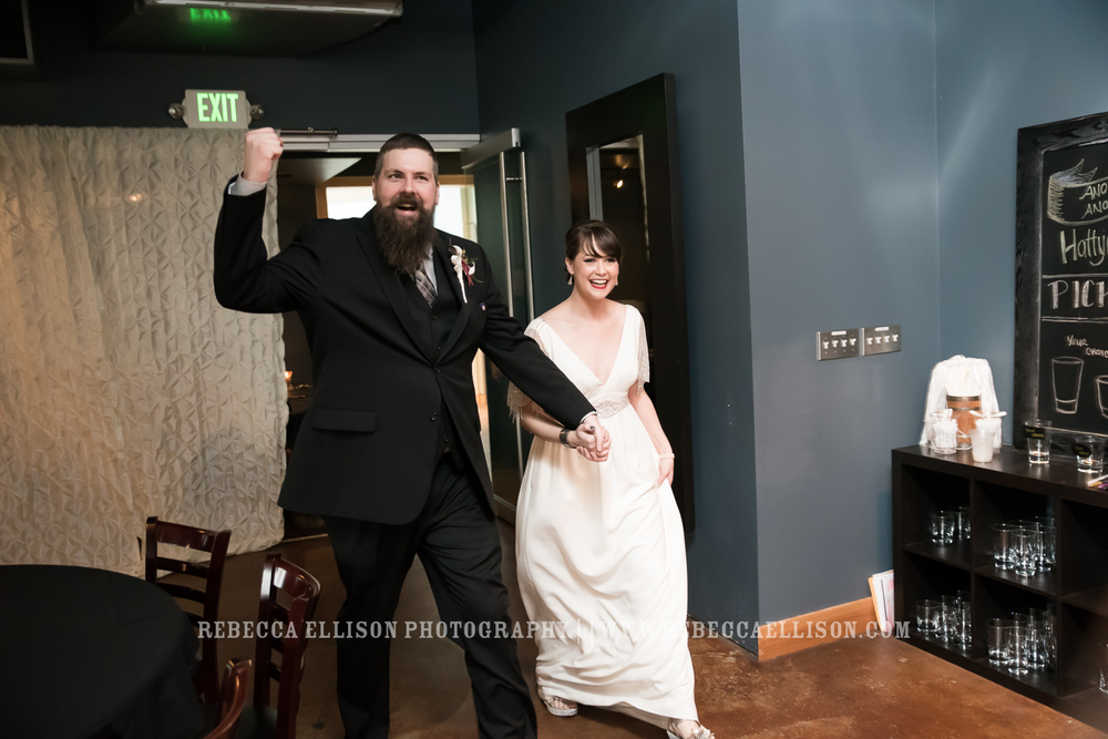 Winter Wedding at The Landing in Seattle