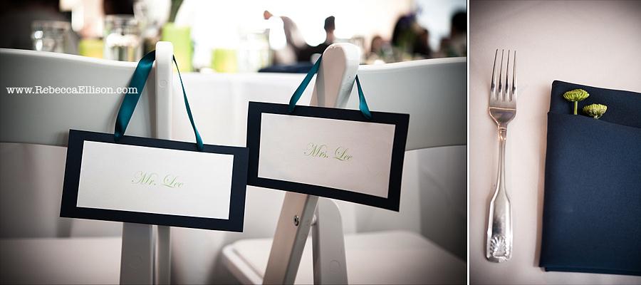 Edmonds Yacht Club wedding reception details