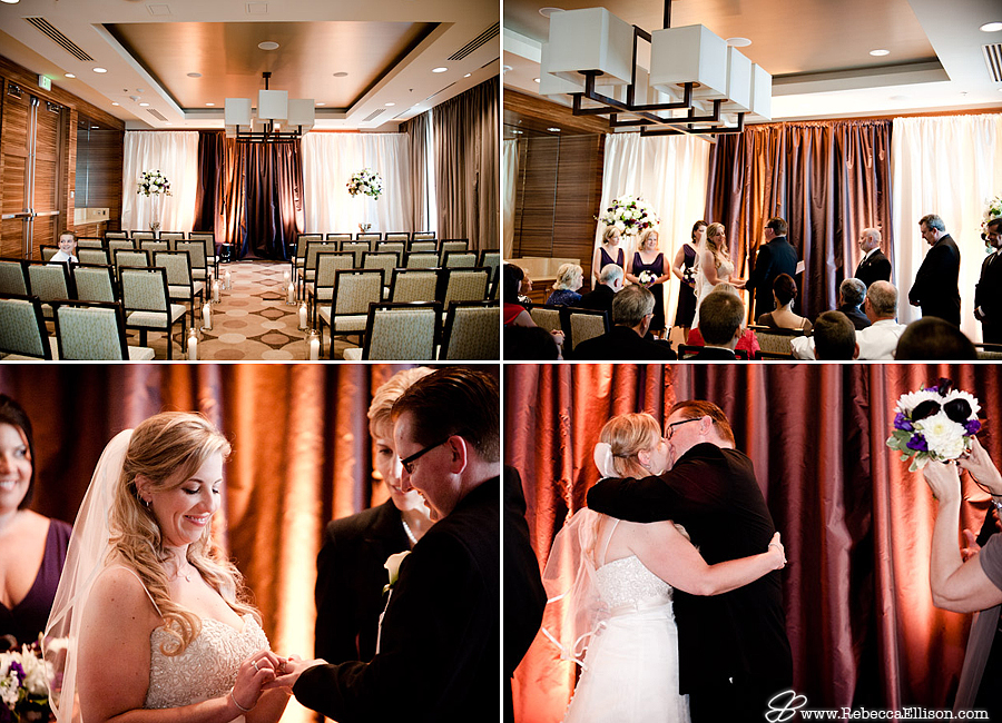pan pacific hotel , seattle ceremony pictures