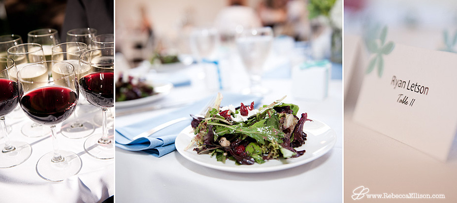 details of wedding food