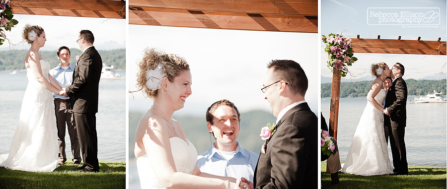 alderbrook resort wedding ceremony