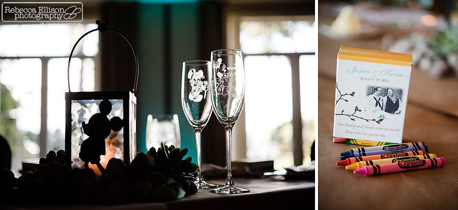 mickey and mini mouse wedding glasses