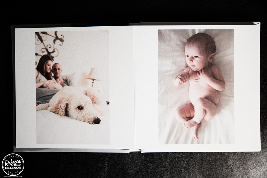 Create a keepsake album of your treasured memories from Rebecca Ellison photography