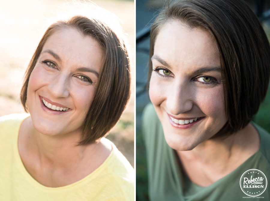 Personalized professional headshots by Seattle portrait photographer Rebecca Ellison