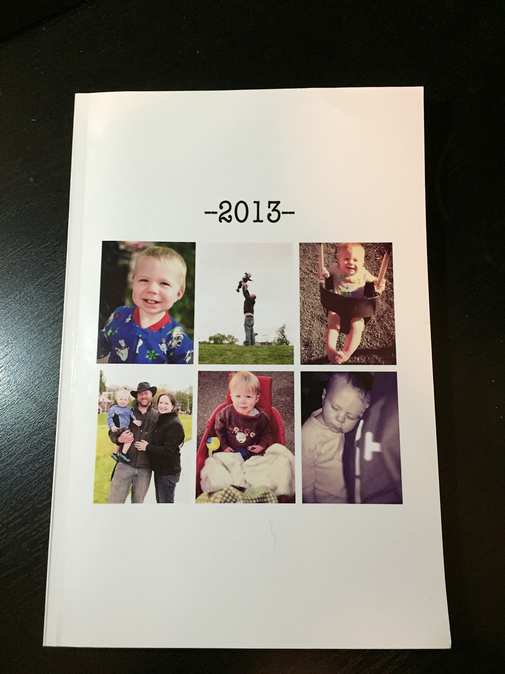 DIY memory book -  memorable photo gifts