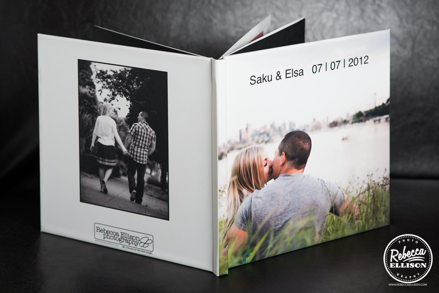 Photo guest book for your wedding a unique product from Rebecca Ellison Photography
