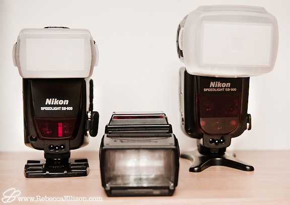 nikon SB900 SB800 and SB600 flashes