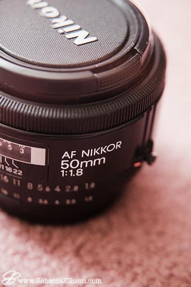 Nikon 50mm 1.8 lens