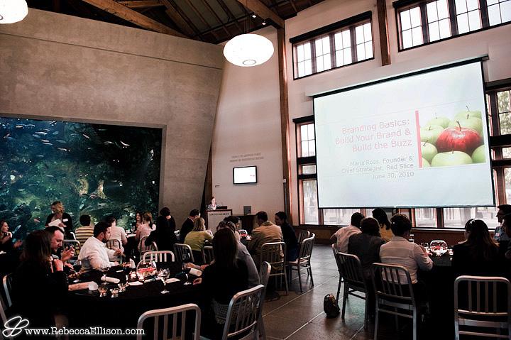 Maria Ross presentation at the Seattle Aquarium
