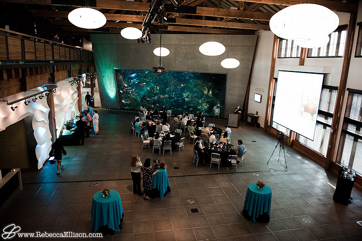 Seattle Aquarium Reception room